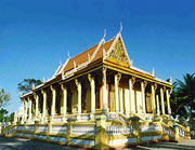 Khleang - Ngôi chùa đậm chất Khmer