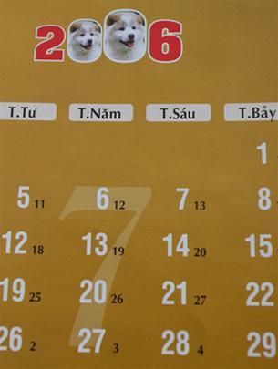 Vì sao lịch VN và Trung Quốc lệch nhau?
