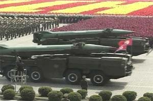 Bắc Triều Tiên bắn thử tên lửa