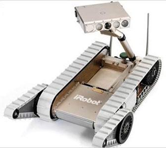Cảnh sát Robot được trang bị súng Taser