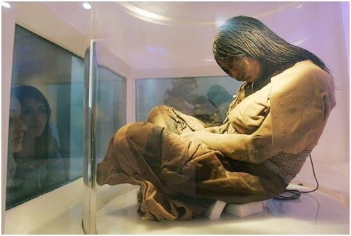 Trưng bày xác ướp trinh nữ 500 năm tuổi