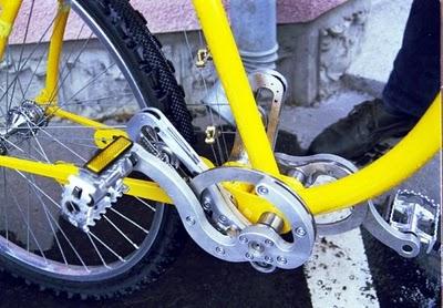 Chuyện lạ có thật: Xe đạp không cần xích!