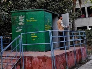 Quân đội Ấn Độ phát minh toilet để dùng trên núi