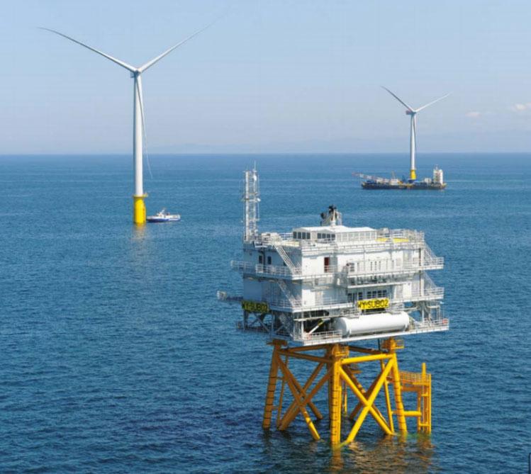 Đưa vào hoạt động nhà máy điện gió biển lớn nhất thế giới