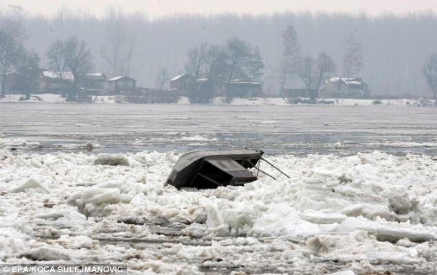 Nguy cơ lũ tàn phá các nước lưu vực sông Danube