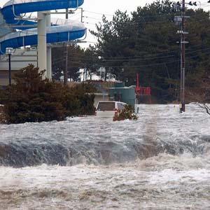 Sóng thần cao 10 mét ập vào Nhật Bản