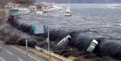 Những hình ảnh không thể quên trong thảm họa Nhật Bản