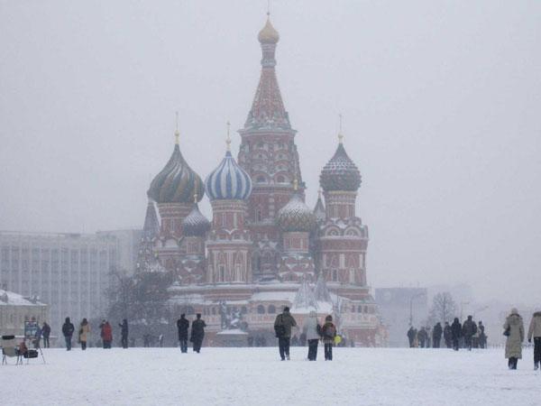 Khí hậu Mátxcơva khắc nghiệt hơn các thủ đô khác