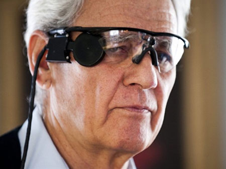 Camera giúp người mù phục hồi khả năng nhìn