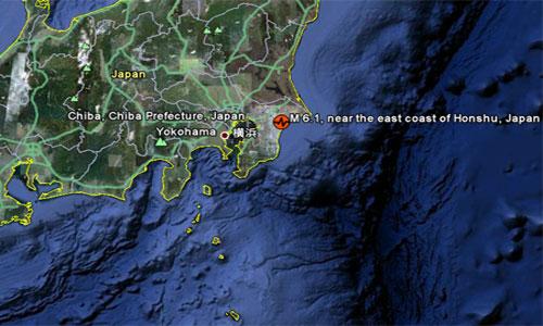 Nhật lại hứng chịu động đất
