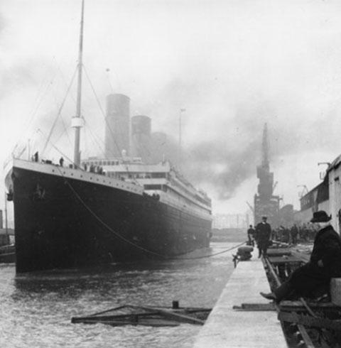 Những bức ảnh quý giá về thảm kịch Titanic
