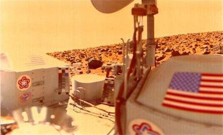 """Tranh cãi về """"sự sống trên sao Hỏa"""""""