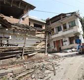 Hình ảnh: Động đất dữ dội tại Tứ Xuyên