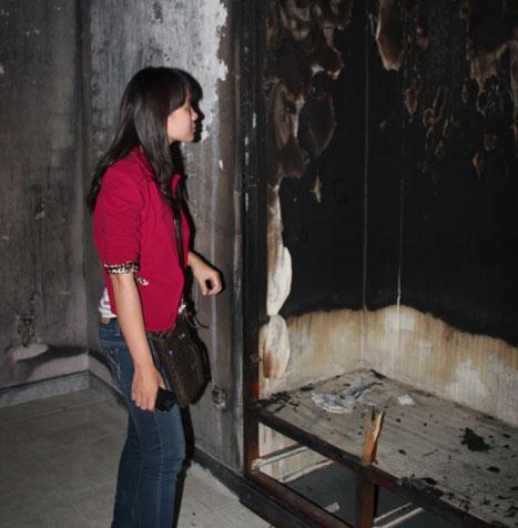 Lập kế hoạch nghiên cứu bé gái phát năng lượng gây cháy