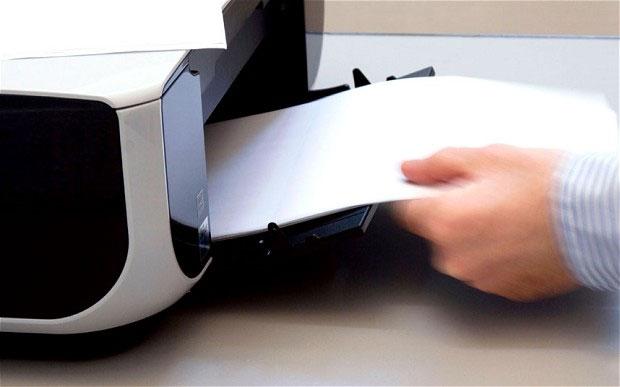 Cách mới giúp xóa mực in trên giấy