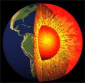 Lõi Trái đất xoay với tốc độ không ổn định