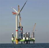 Điện gió trên biển Việt Nam bắt đầu lên lưới