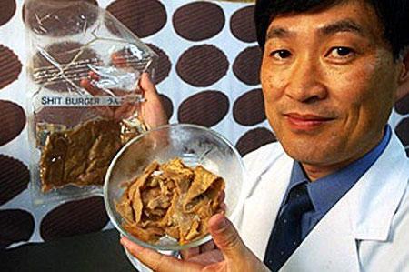 Sản xuất thịt nhân tạo từ … phân người