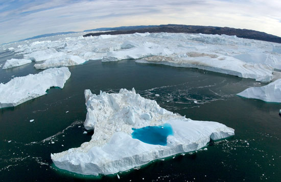 Nguyên nhân băng trên Trái Đất tan chảy nhanh