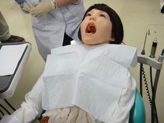 Thực hành khám răng trên Robot