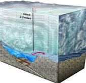 Phát hiện sự sống dưới lớp băng dày ở Nam Cực
