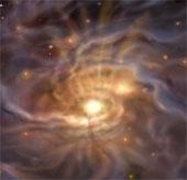 Ngôi sao lớn nhất Dải Ngân hà đang hình thành