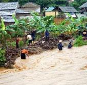 Mưa lũ gây ra nhiều thiệt hại tại tỉnh Điện Biên