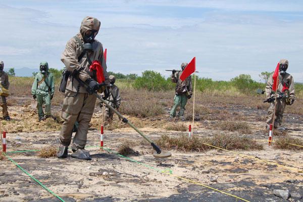 Công nghệ IPTD để xử lý dioxin ở sân bay Đà Nẵng