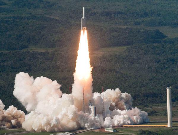 Châu Âu vừa phóng thành công hai vệ tinh viễn thông