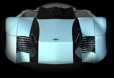 Mẫu siêu xe công nghệ đệm khí của tương lai