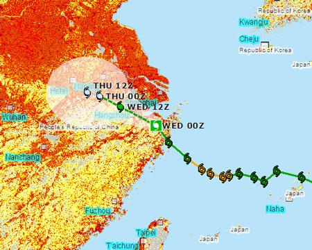 Hình ảnh: Bão mạnh tàn phá miền đông Trung Quốc