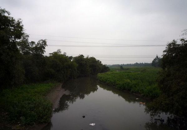 Nước sông Nhuệ và sông Đáy ô nhiễm nặng
