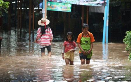 Hơn 200 người chết vì lũ lụt ở Thái Lan