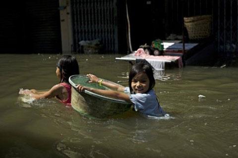 Bangkok không tránh được ngập lụt