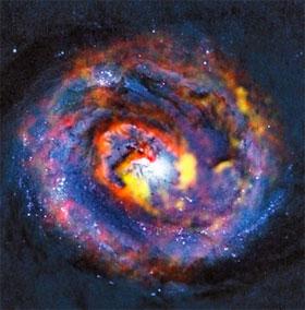 """Bằng chứng về sức mạnh của lỗ đen """"siêu khủng"""""""