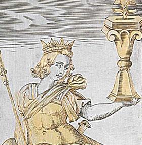 Bí mật lịch sử bên trong bộ bài mạ vàng 400 năm tuổi