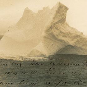 Lộ diện tảng băng đánh chìm tàu Titanic huyền thoại