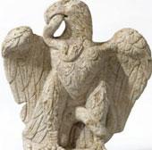Tìm thấy tượng đại bàng 1.900 năm tuổi giữa London