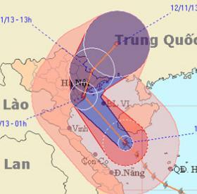 Tối nay bão đổ bộ Hải Phòng, Thái Bình, Quảng Ninh