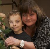 Cậu bé dị ứng với Giáng sinh