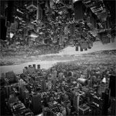 """Siêu đô thị """"chọc thủng bầu trời"""" qua ảnh đen trắng ấn tượng"""
