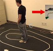"""Video: Hệ thống theo dõi chuyển động 3D """"nhìn"""" xuyên tường"""