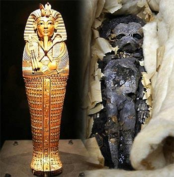 Vua Tutankhamun có thể có con gái