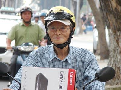 Cụ ông 72 tuổi đăng kí sáng chế thứ 3