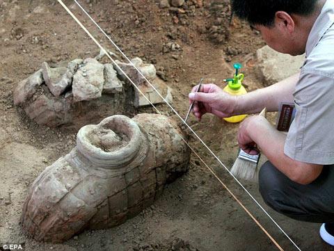 Phát hiện mới về khu mộ của Tần Thủy Hoàng