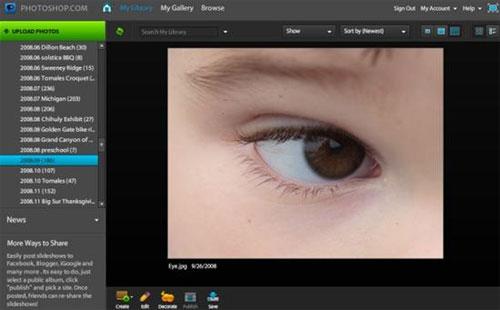 Adobe mở rộng dịch vụ Photoshop trực tuyến
