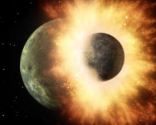 Spitzer phát hiện cú va chạm mạnh giữa hai hành tinh