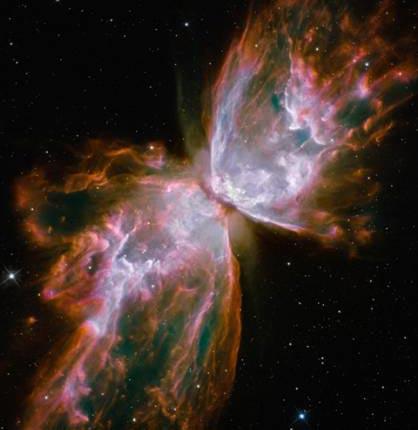 Cánh bướm khổng lồ trong vũ trụ