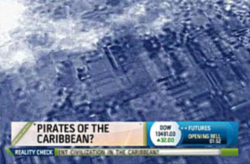 Phát hiện vết tích thành phố Atlantis dưới đáy biển