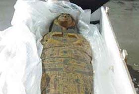 Di cốt vua Ai Cập bị đánh cắp sắp 'về nhà'